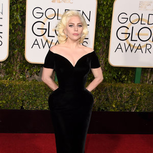 Lady Gaga's Gown at the Golden Globes 2016