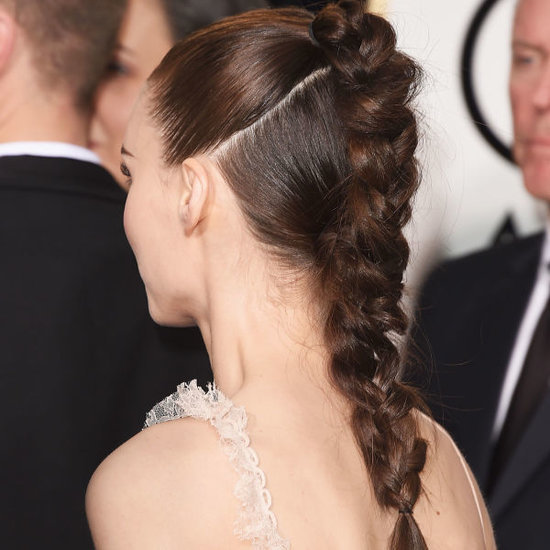 Golden Globes Beauty: Celebs Balance Their Couture With Casual Hairstyles