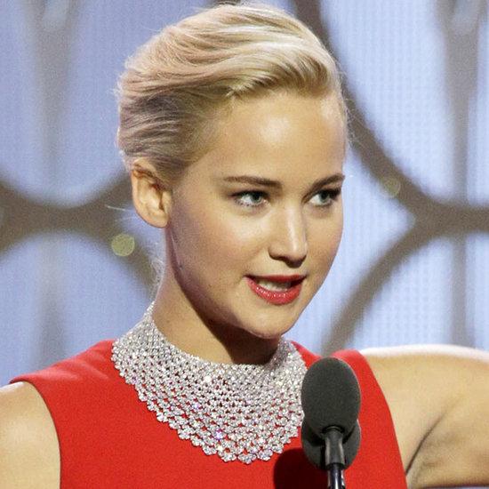 Jennifer Lawrence's Golden Globes Acceptance Speech 2016