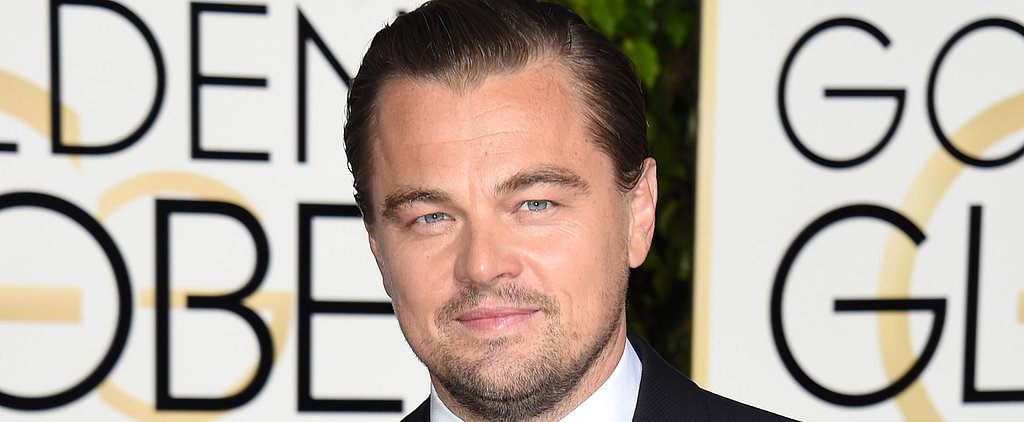 Leonardo DiCaprio Delivered a Truly Inspiring Speech at the Golden Globes