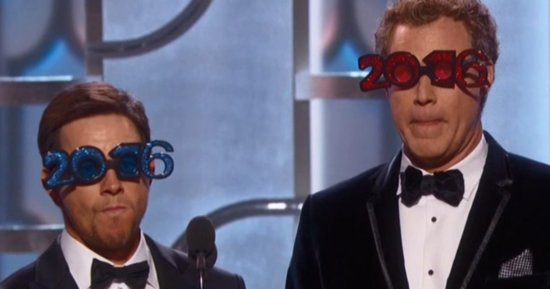 Mark Wahlberg Jokes About Will Ferrell's Drinking At Golden Globes