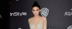 Kylie Jenner Had a Sexy Princess Moment After the Golden Globes