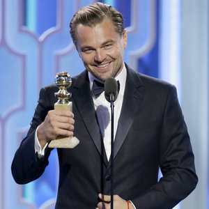 Leonardo DiCaprio's Best Moments at the Golden Globes 2016