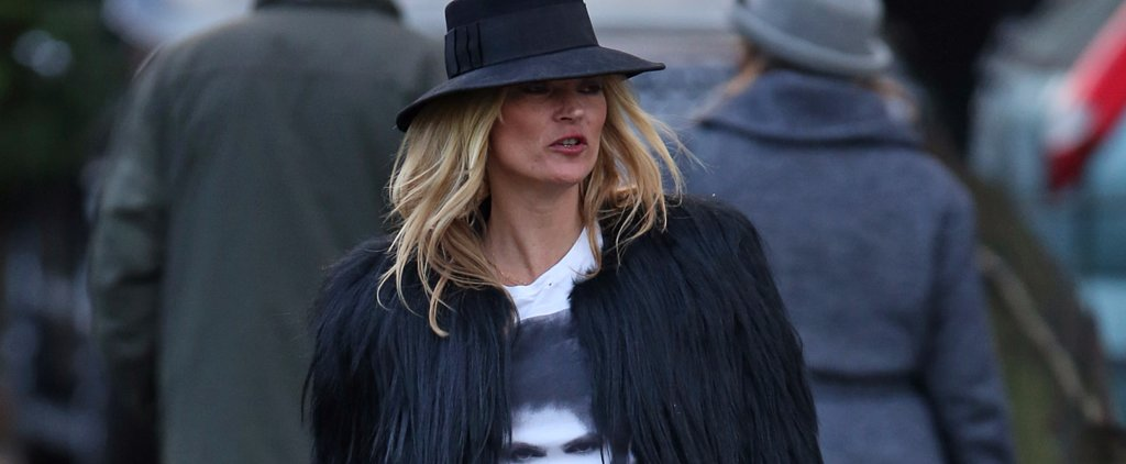 Kate Moss Pays Homage to Her Idol David Bowie in the Best Way She Knows How