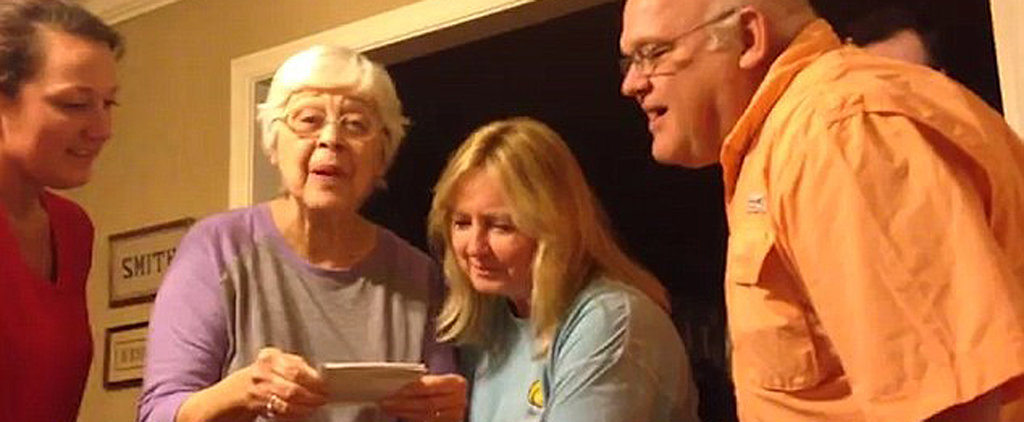 This Woman's Reaction to Learning Her Granddaughter Is Pregnant With Triplets Is All Kinds of Amazing
