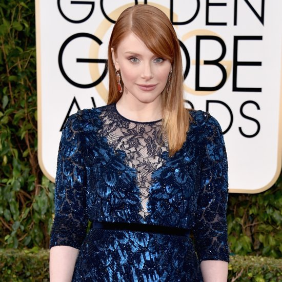Bryce Dallas Howard Auctions Golden Globes Dress For Charity