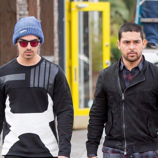 Nick and Joe Jonas Out With Wilmer Valderrama January 2016