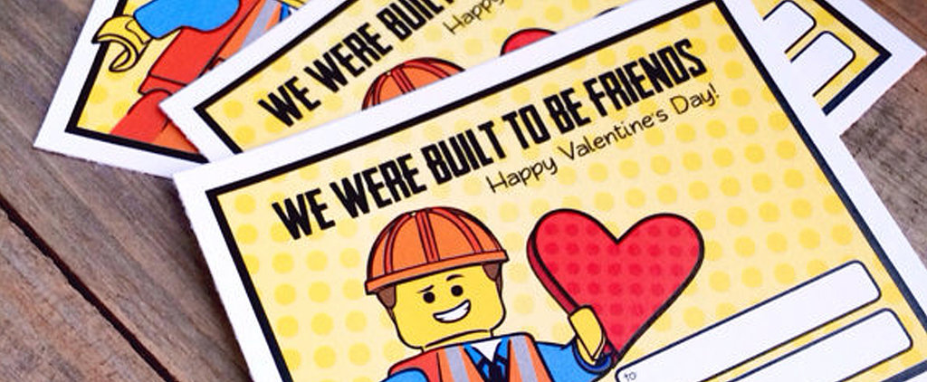 "These Lego Valentines Are the Cutest on the ""Block"""