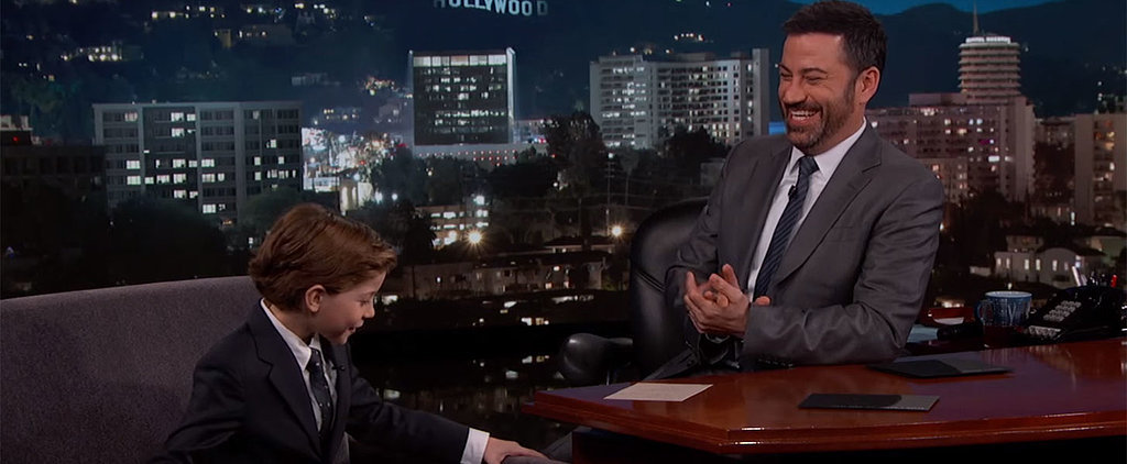 """Jacob Tremblay Knows Just How Adorable He Is: """"I Do Have a Delicious Face"""""""