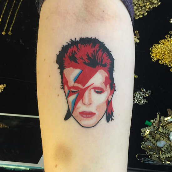 Howard donald named his son after david bowie popsugar for David bowie tattoos