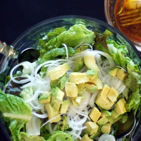 Green Salad Red Wine Vinaigrette