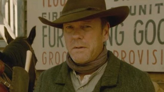 EXCLUSIVE: First Look at Donald and Kiefer Sutherland Playing Father and Son in 'Forsaken'