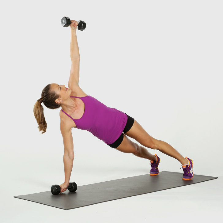 Free Weight Dumbbell Back Exercises: Printable Workout: Full-body, Dumbbell Circuit