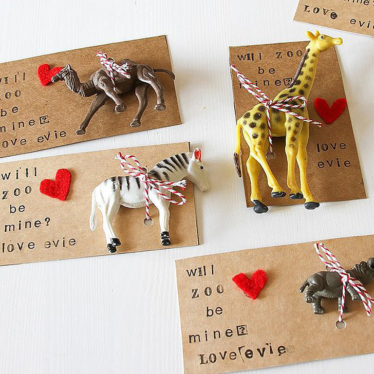Diy Noncandy Printable Valentine 39 S Day Cards For Kids