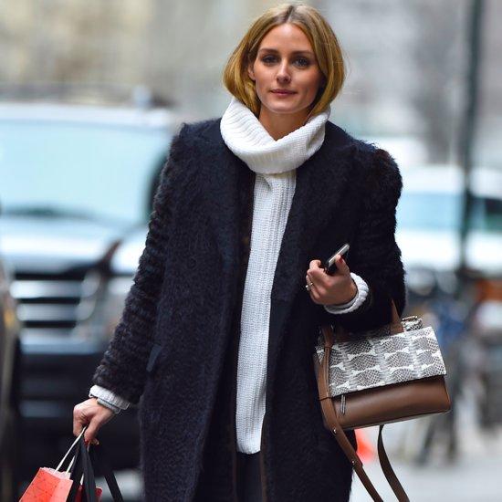 Olivia Palermo Wearing Winter Layers January 2016