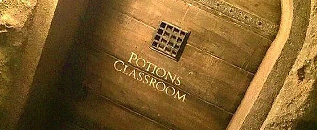 Someone Left the Most Incredible Gift Outside Professor Snape's Classroom Door