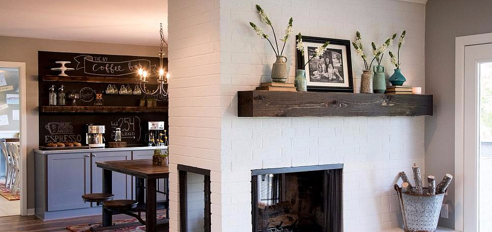 20 Fab Fireplace Mantels to Be Inspired By
