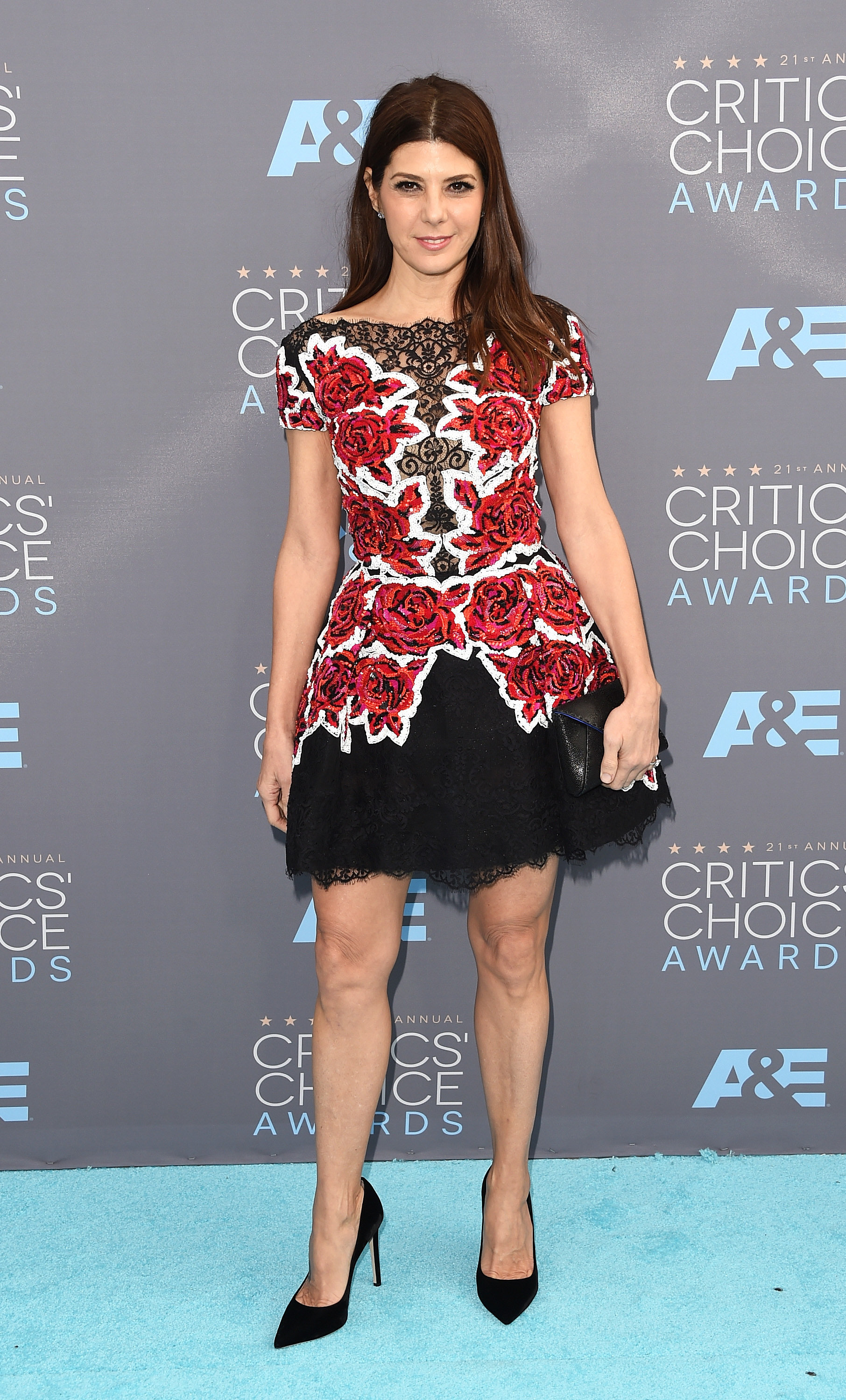 Marisa Tomei | See Every Look From the Critics' Choice ...