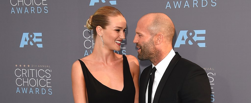 Rosie Huntington-Whiteley and Jason Statham Shine Brighter Than Her Engagement Ring
