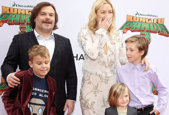 Angelina Jolie and Kate Hudson Show Off Their Gorgeous Kids at 'Kung Fu Panda 3' Premiere (PHOTOS)