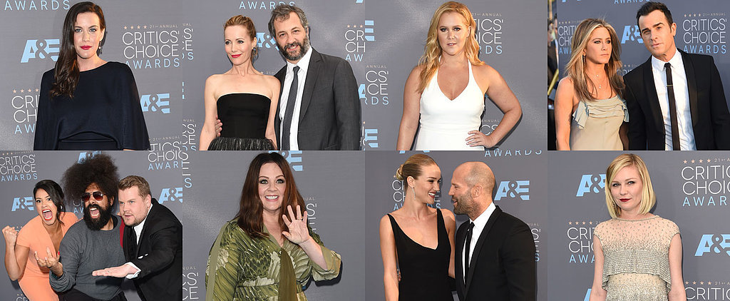 In Pictures: Hollywood's Hottest Stars Were at the Critics' Choice Awards Today