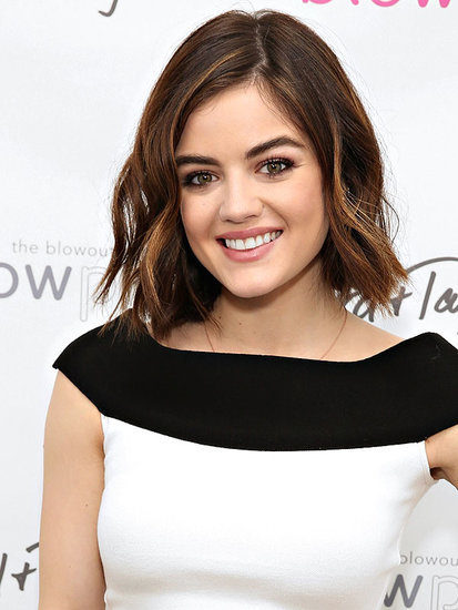 Lucy Hale's Secret for Nailing the Perfect Blowout? 'A Lot of Luck'