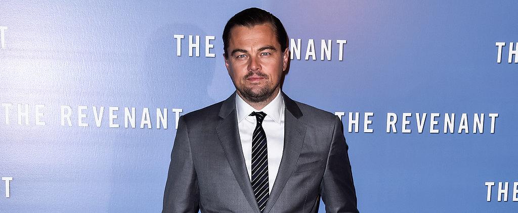 Leonardo DiCaprio Brings His Sexy Smolder to the Red Carpet