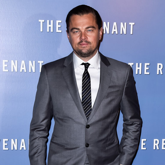 Leonardo DiCaprio at The Revenant Premiere in Paris 2016