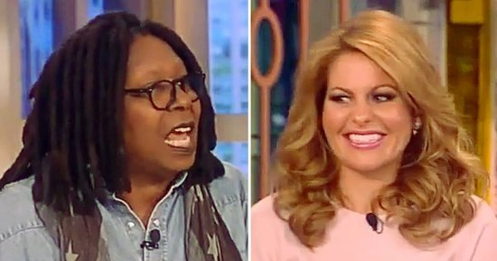 Whoopi Goldberg Slams Oscars Boycott on 'The View,' Candace Cameron Bure Walks Out: Find Out Why