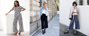 Fashion Girl-Approved Ways to Wear Culottes