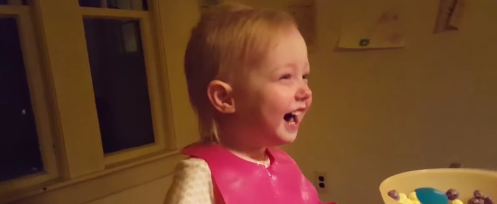 This Little Girl's Reaction to Hearing About Snow Is Priceless — and a Little Surprising