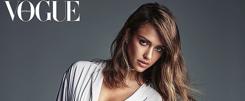 How to Stand Out in All White, According to Jessica Alba