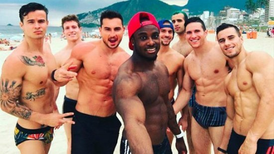 USA Men's Gymnastics Team Already Wins The Gold Medal Of Hotness