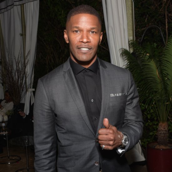 Jamie Foxx Saves Man From Burning Car