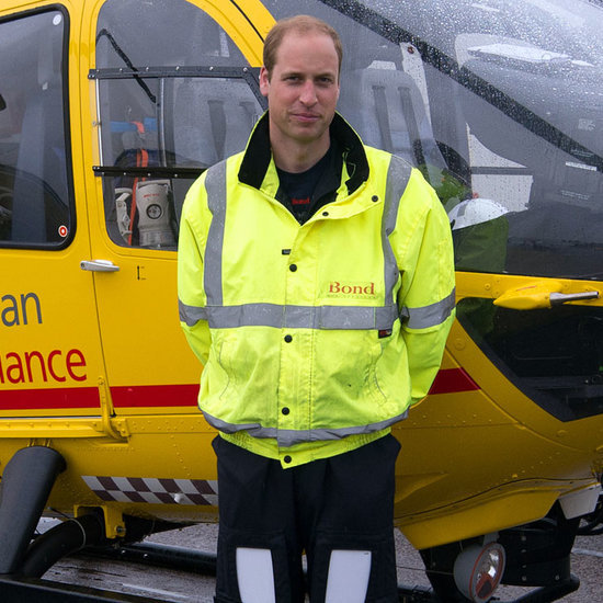 Prince William Valentine's Day Helicopter