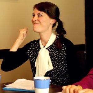 Moms Acting Like Kids at Work Video