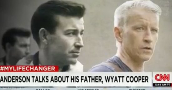 Anderson Cooper Opens Up About His Father, Who Died Young