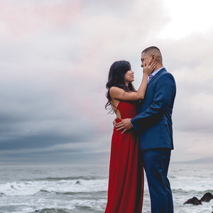 Sutro Baths Engagement Photos
