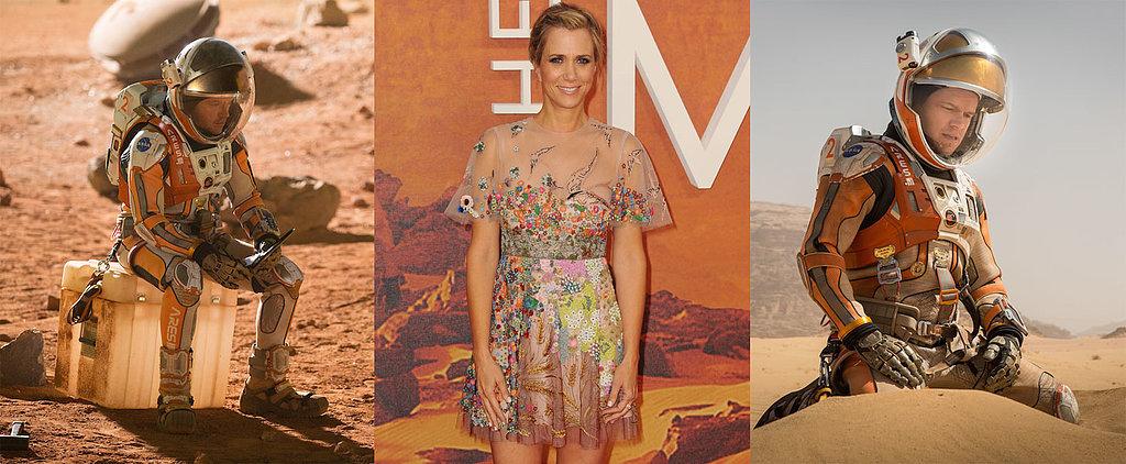 """Exclusive Interview With The Martian's Kristen Wiig: """"Matt Damon Is Unbelievable"""""""