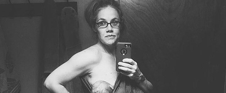 This Breastfeeding Mom Took a Selfie in Adult Diapers 24 Hours After Giving Birth