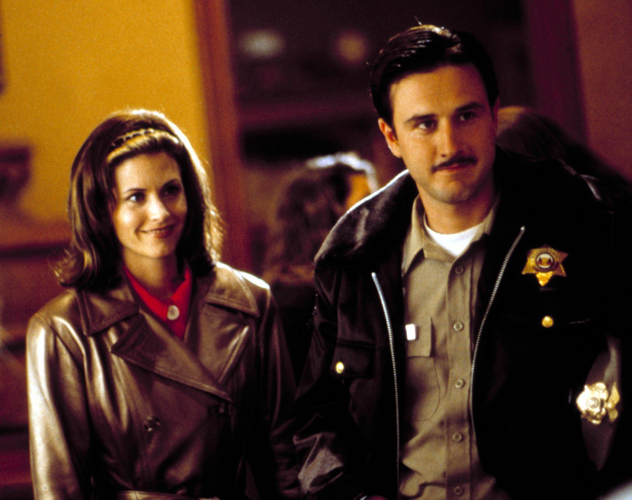 David Arquette and Courteney Cox, Scream