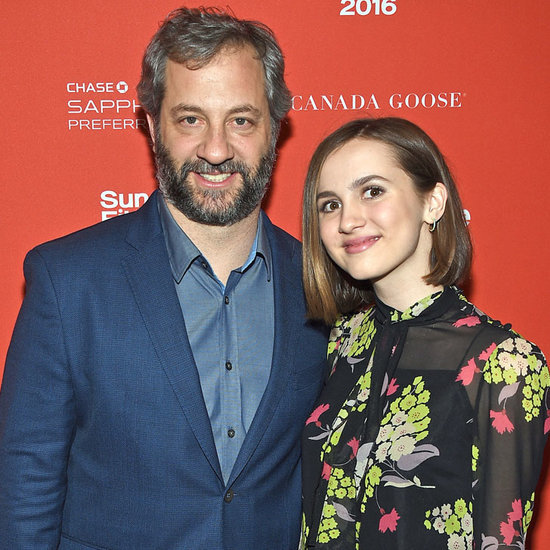Judd Apatow and Daughter Maude Sundance Film Festival 2016