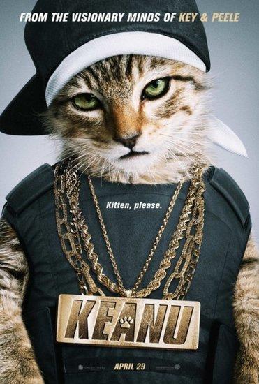 First trailer for Key & Peele's movie, Keanu, looks hilarious