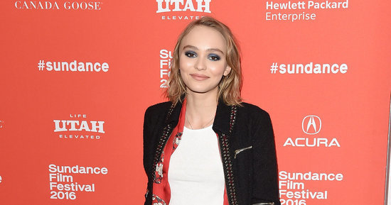 Lily-Rose Depp Looks Gorgeous At The Sundance Premiere Of 'Yoga Hosers'