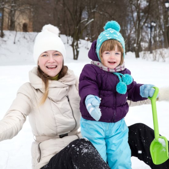 Ways to Entertain Kids in the Snow