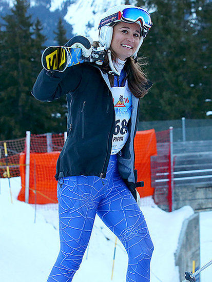 Pippa Middleton Celebrates with Schnapps and Fondue After Her Giant Ski Race: 'It Was Great Fun'