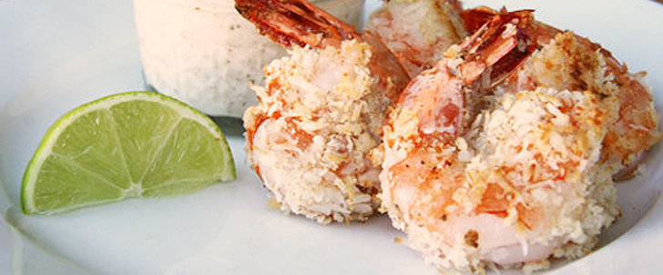 Healthy Hors D'oeuvre: Baked Coconut Shrimp
