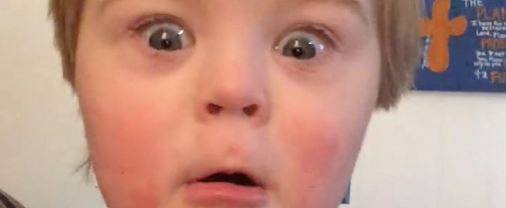 You've Got to See What Happens When This Boy Reciting the Alphabet Gets to the Letter W
