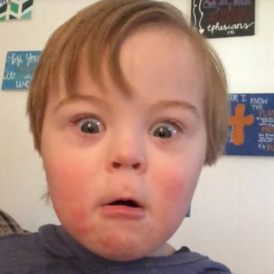 Little Boy With Down Syndrome Repeats the ABCs Except W
