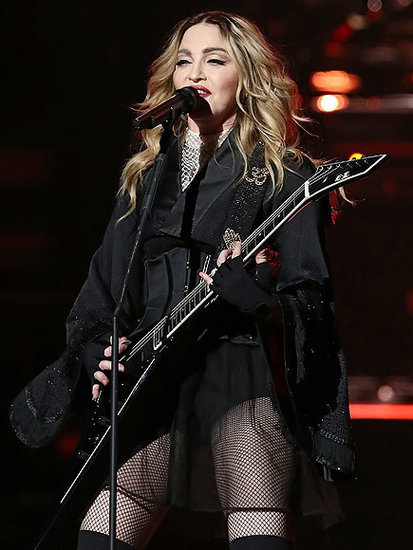 Madonna Enjoys Miami Nights with Pals - Including Ariana Grande and Naomi Campbell! - in Midst of Custody Battle: Source